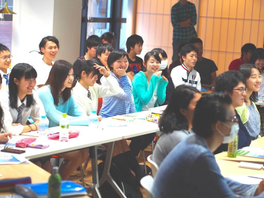 笑顔溢れる授業